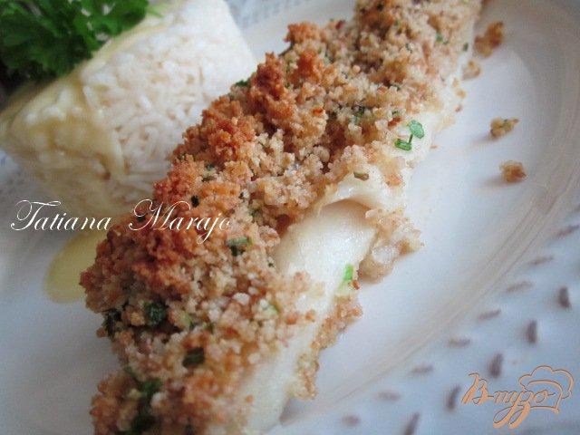 Фото приготовление рецепта: Рыбка  под хрустящей шапочкой шаг №3