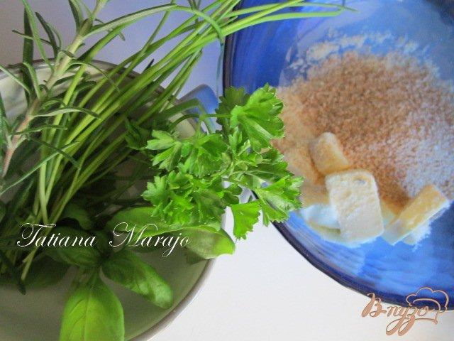 Фото приготовление рецепта: Рыбка  под хрустящей шапочкой шаг №1
