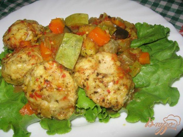 Рецепт Фрикадельки в овощном рагу.