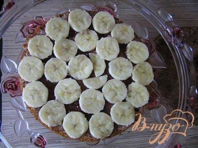 Клубничный торт с бананом