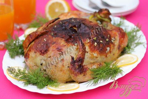 Рецепт Galantine de poulet (Галантин из запечённой курицы)