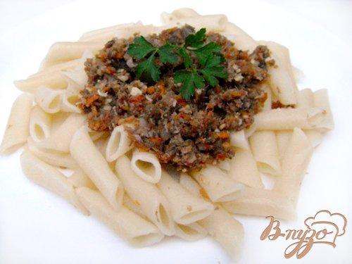 Рецепт Макароны с фаршем из овощей и свиного языка!
