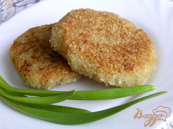 Рецепт Котлеты из фасоли с зеленью