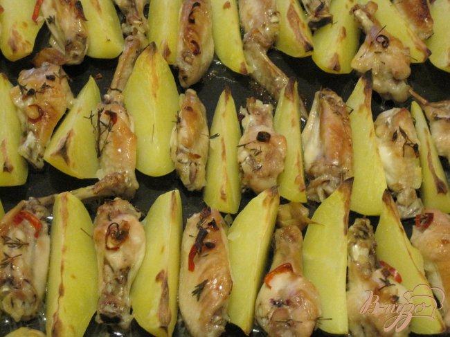 Фото приготовление рецепта: Куриные крылья по новому!!! шаг №3