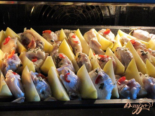 Фото приготовление рецепта: Куриные крылья по новому!!! шаг №2