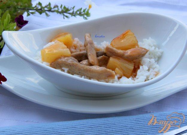 Рецепт Свинина с ананасом по-китайски