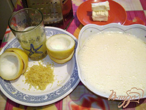 Крем «Лимон»
