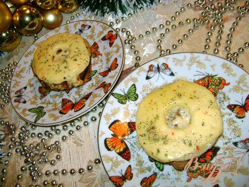 Рецепт Праздничная котлета с ананасом и сыром