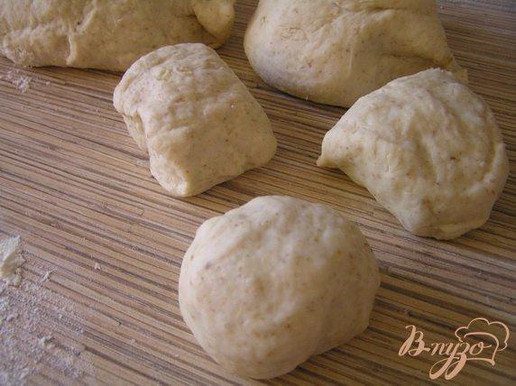 Фото приготовление рецепта: Ванильные булочки (на закваске) шаг №1