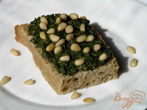 Рецепт Грибной паштет со шпинатом