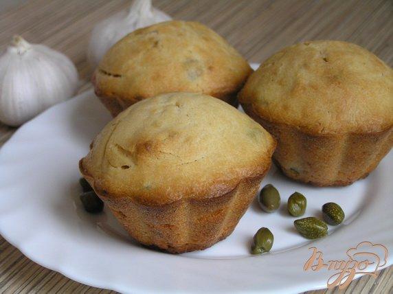 Рецепт Закусочные кексы с каперсами