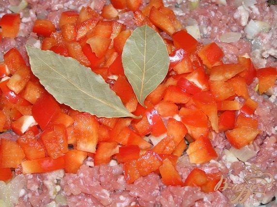 Фото приготовление рецепта: Аргентинский мясной пирог с картофелем шаг №4