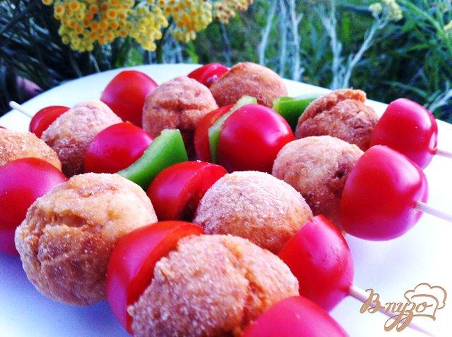 Фото приготовление рецепта: Аппетитные куриные крокеты шаг №4