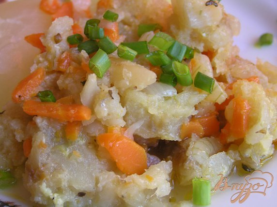 Рецепт Филе щуки с овощами