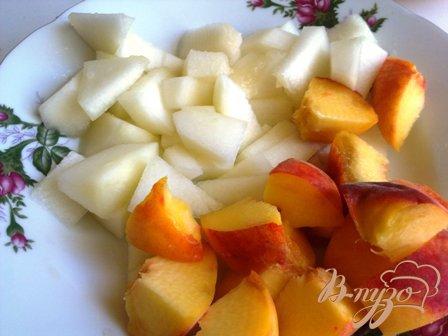 Персиково-дынный смузи
