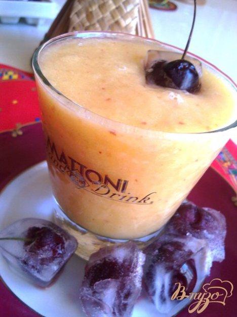 фото рецепта: Персиково-дынный смузи