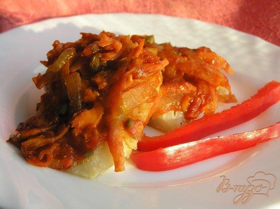 рецепт приготовления хека с овощами