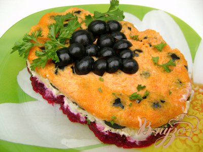 Салат «Гроздь винограда»