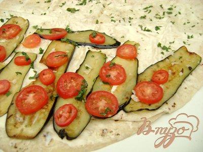 Закусочный рулет из лаваша с овощами!