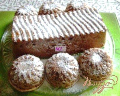 Рецепт Кекс с изюмом и шоколадом