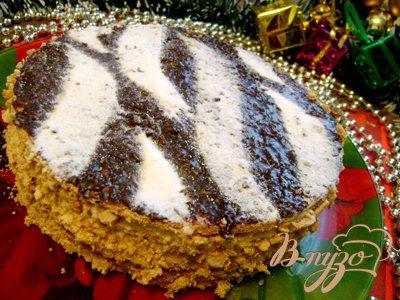 Рецепт Торт «Белый тигр»