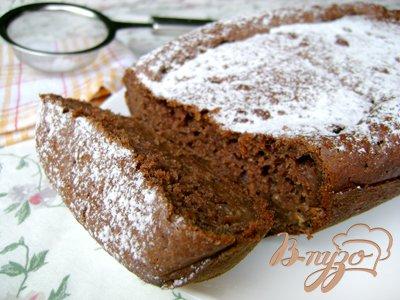 Рецепт Шоколадный кекс ...с кабачком!
