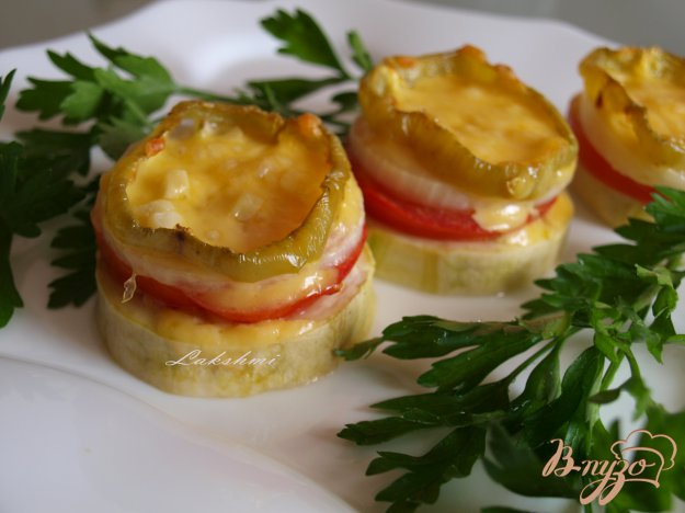 фото рецепта: Овощные пирамидки