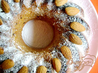 Рецепт Финиковый кекс на миндальной муке