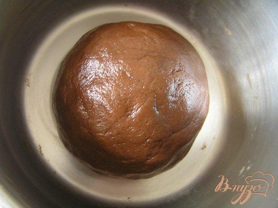 Фото приготовление рецепта: Торт со сливочно-цитрусовым суфле и черной смородиной шаг №3