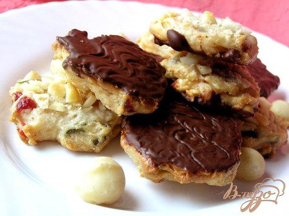 Рецепт Флорентийское печенье с макадамией