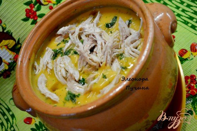 Фото приготовление рецепта: Суп-пюре в горшочке. шаг №3