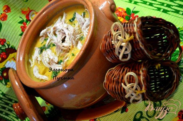 фото рецепта: Суп-пюре в горшочке.