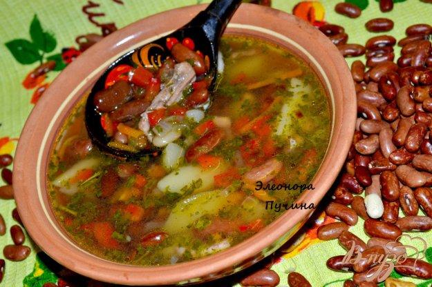 фото рецепта: Фасолевый суп.
