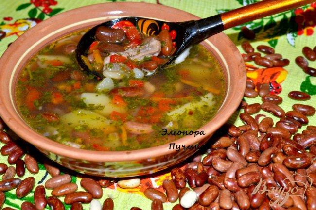 Фото приготовление рецепта: Фасолевый суп. шаг №1