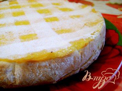 Рецепт Очень полезный творожно- тыквенный пирог