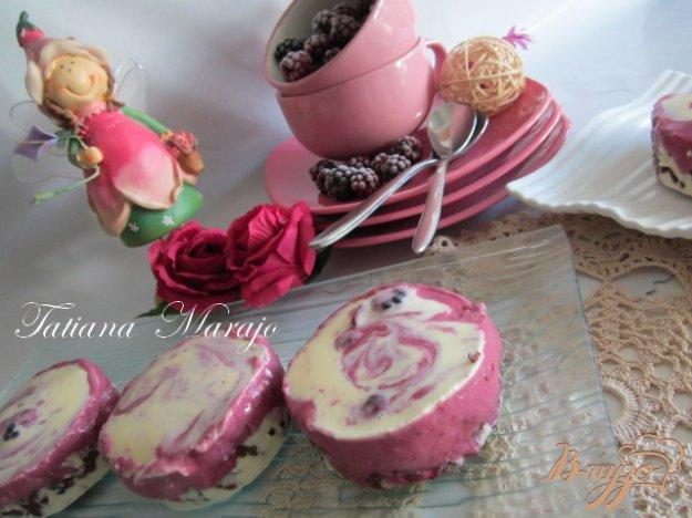 Рецепт Ежевичный десерт