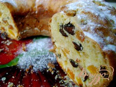 Рецепт Кекс с сухофруктами «Радуга»