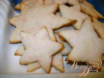 Печенье «Новогодние ёлочки»