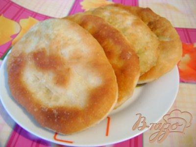 фото рецепта: Пирожки с сёмгой и рисом «Морские»
