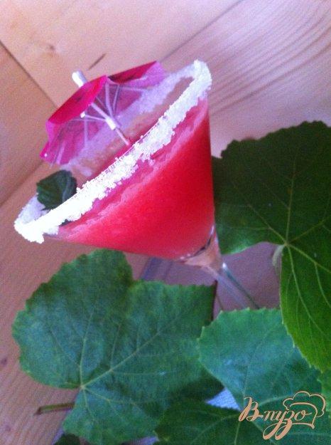 фото рецепта: Пунш арбузный с мартини