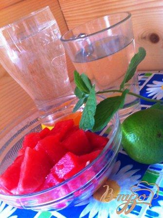 Лимонад арбузный