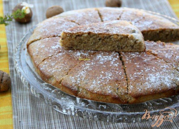 Рецепт Нежный ореховый пирог