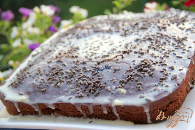 Фото приготовление рецепта: Crazy cake шаг №6