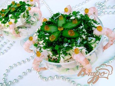 Рецепт Салат-коктейль «Медуза»