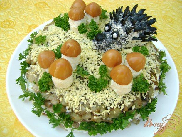 Рецепт Салат «У леса на опушке...»:)