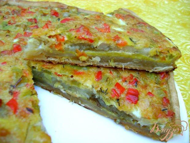 фото рецепта: Закусочный пирог