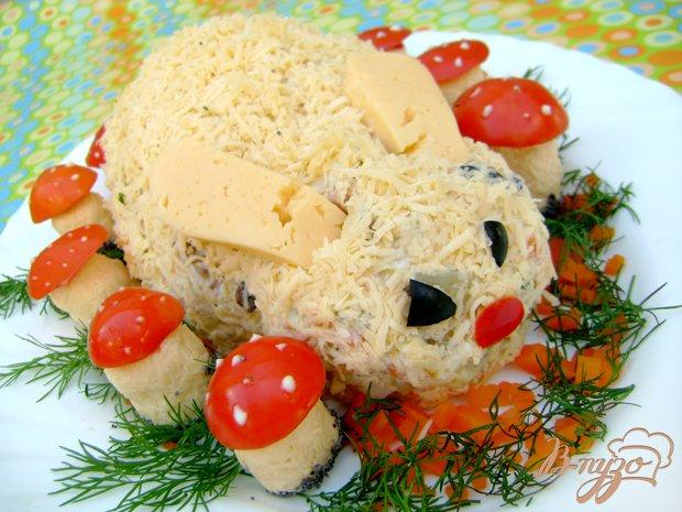 Рецепт Салат «Зайка в осеннем лесу»