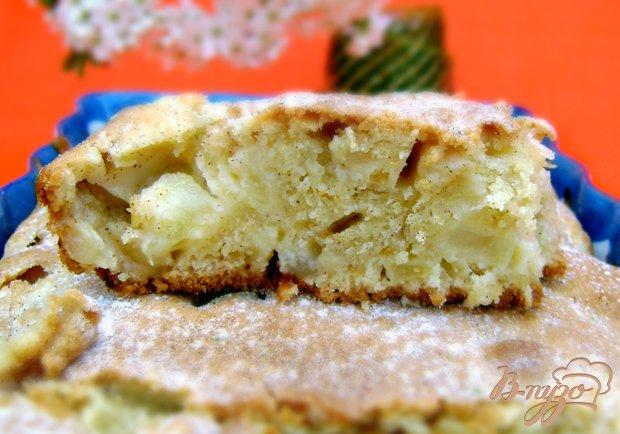 Рецепт Пирог на оливковом масле с коньяком и корицей «Райское яблочко»