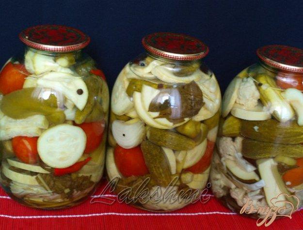 фото рецепта: Овощное ассорти на зиму