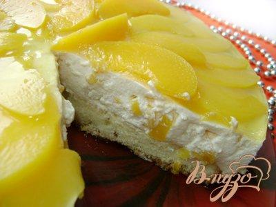 Сливочно-творожный торт «Peach Cream»